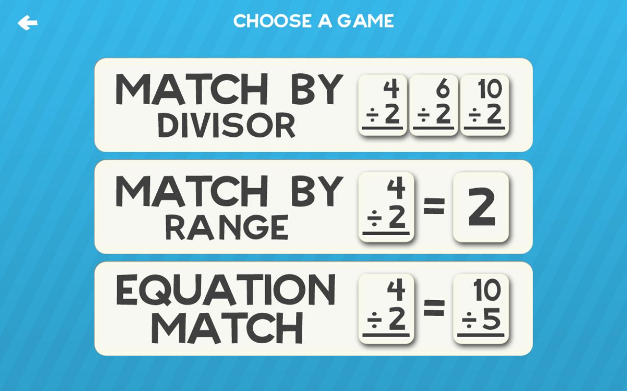 multiplikation und division mathe flashkarte spielspiele