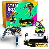 be cre8v 3 in 1 stem based robotics combo diy kit for kids over 6+ years, educational kit, science lab diy, electronics proje