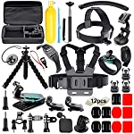 Soft Digits 50 in 1 Action Camera Accessori Kit per GoPro Hero 2018 Hero 7 6 5 4 3 Hero 5 Black, Hero Session YI Campark...
