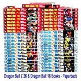 1-16 & 1-26 Complete Dragonball Manga Collection (Dragon Ball, Dragonball, Dragonball Z,, Entire Series) (Dragon Ball, DragonBall, DragonBall Z,, ALL of both TITLES)