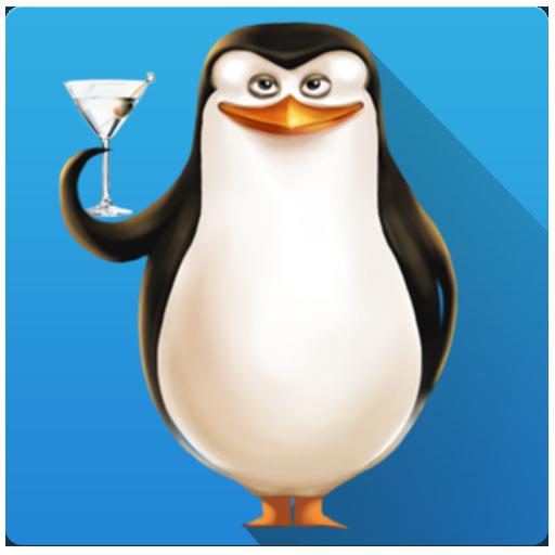 Chill Penguin (Penguins Skiing)