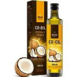 C8 MCT olie van 100% kokosolie zuiver caprylzuur 500ml - reukloos en smaakloos