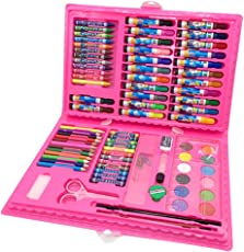 LQZ 86pcs Water Color Pen/Crayon/Oil Pastel/Brush Children Drawing Painting Art Tool Set