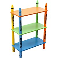Crayon 3 Tier Childrens Shelving Unit