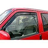 J&J Automotive Windscherm, compatibel met CarAWELLE/Transporter/T4 1990-2003, 2 stuks