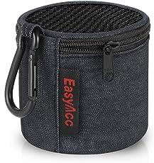 EasyAcc Tasche für Anker SoundCore Mini/August MS425/ EasyAcc Mini Bluetooth Lautsprecher, Premium Tragbare Speaker Hülle Schutzhülle, Reise Tragen Case mit Karabiner