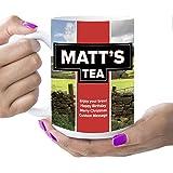 Gepersonaliseerde Yorkshire thee stijl grote mok, thee mok, grote theekop, Jumbo mok, grote mok, 1 pint mok (16 oz (groot))