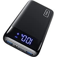INIU Powerbank, 20W PD3.0 QC4.0 Schnelles Aufladen 20000mAh LED Display Externer Akku, Tri-Outputs USB C Power bank…