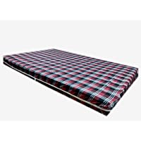 Topaz Furnishings Cotton 300 TC Mattress Cover/Protector for Small Bed with Zip(72x36x4),Multicolour
