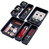 Xionghonglong Rangement de Tiroir,Plateaux de Rangemen,Boîte de Rangement Maquillage,Cosmétique Bureau,Rangement Maquillage t