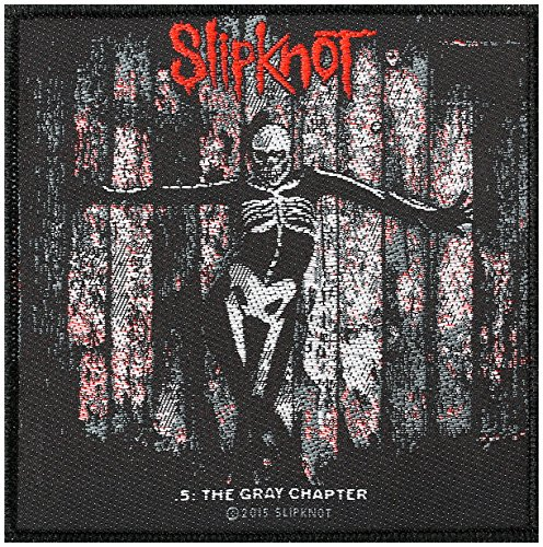"Toppa degli Slipknot ""The Gray Chapter"", 10 x 10 cm"