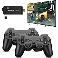 TMG 4K HD Video Game Console 2.4G Dual Gamepad Classic Retro TV Game HDMI High-Definition Console 32GB (3000 Games)