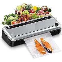 Bonsenkitchen Machine Sous Vide Alimentaire - Appareil de Mise Sous Vide Alimentaire Automatique avec Cutter et 1…