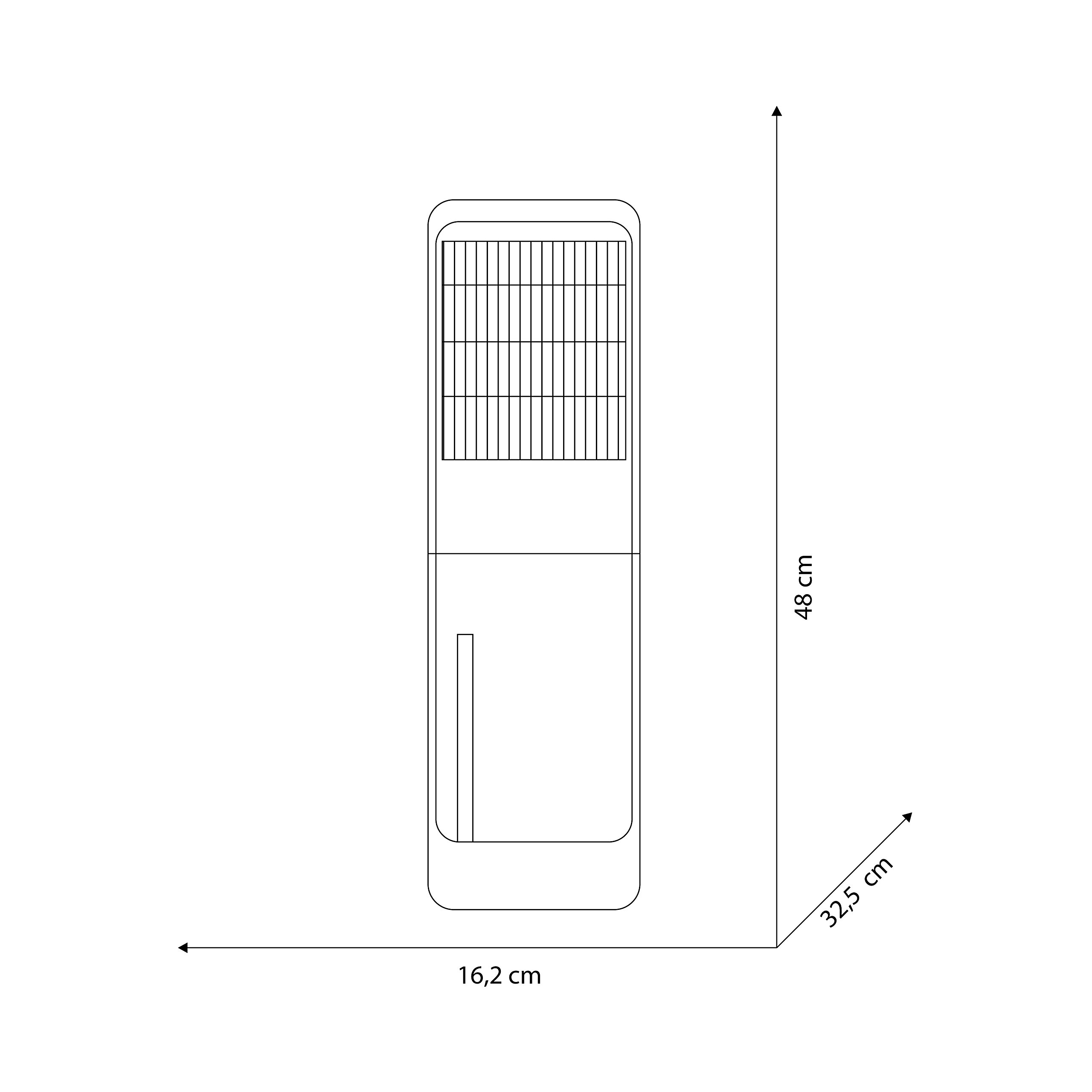 309 W 230 V Bianco Olimpia Splendid 01546 Aquaria Slim Deumidificatore da Appoggio o Parete con capacit/à 12 litri//24h