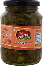 Entrée Jalapeno Slices in Vinegar 360 grams x 2 jars