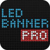 LED Banner Pro - Die kostenlose Dot-Matrix Text Ticker Display App