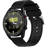 Zebronics ZEB-FIT4220CH Smart Fitness Watch with Call Function via Built-in Speaker and Mic, SpO2, BP & Heart Rate Monitor, I