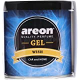 Areon Wish Gel Air Freshener for Car (80 g)