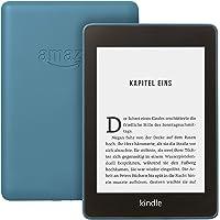 Kindle Paperwhite, wasserfest, 6 Zoll (15 cm) großes hochauflösendes Display, 32 GB – mit Spezialangeboten – Dunkelblau…