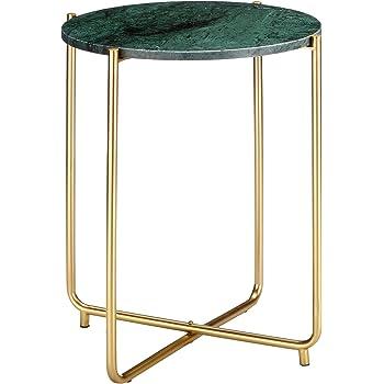 Felis Lifestyle Side Table Timpa Marble Green Marbre Vert 445x44