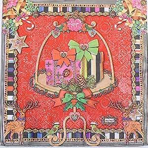 Serviette ouate 3 plis - 33X33cm - motif Sissi noël - paquet de 20