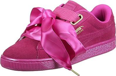 Basket Puma Heart Rose Femme