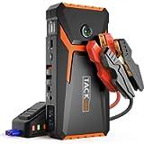 TACKLIFE T8 800A Peak 18000mAh Avviatore Batteria Auto con Display LCD (Fino a 7,0 Litri di Gas, Motore Diesel da 5,5…