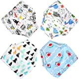 FLYISH DIRECT Baby Potty Training Pants, 4 Packs Toddler Potty Training Pants Cotton Training Pants 1T- 5T (Mixed Boys…