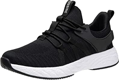 Trainers Mens Womens Running Shoes Sneaker Tennis Gym Athletic Outdoor Sports Shoes Walking Road Jogging Lightweight Non Slip Casual Size 3-11