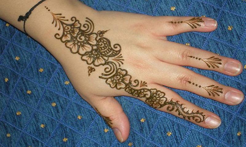 Simple Mehndi Patterns Wallpapers : Mehndi designs images for beginners girls vol amazon