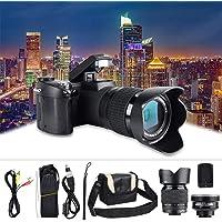 Full HD-Digitalkamera, D7100 33MP 3,0-Zoll-TFT-LCD Digitale DSLR-Kamera mit 24-Fachem Zoom 1080 P 30 Fps Video-Foto…