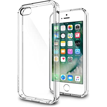AirPlus Air Case Hard Back With Soft Cushion Case / Cover For iPhone 5S /SE, Transparent