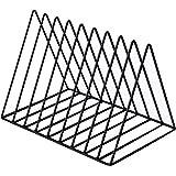 Nai-storage ZSY Estante de Almacenamiento Triangular, Soporte de exhibición de Discos de Vinilo LP Estantería de Escritorio C