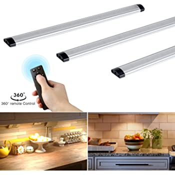 Dimmable Under Cabinet Lights Kitchen Lighting With Controller Led Closet Lighting 12w 900lm 3000k