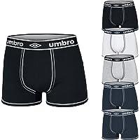 Umbro Pack 6 Paia Slip/Boxer Assortito Cotone Elasticizzato Art.713/714