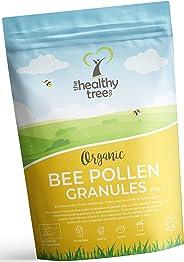TheHealthyTree Company Organic Spanish Bee Pollen Granules - High in Vitamins B1, B2, C, E, Biotin, Copper and Folic Acid - G
