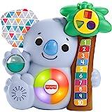 Fisher-Price- Parlamici Baby Koala 123, Gioco Educativo con Luci e Suoni Giocattolo per Bambini 9+Mesi, GVN29