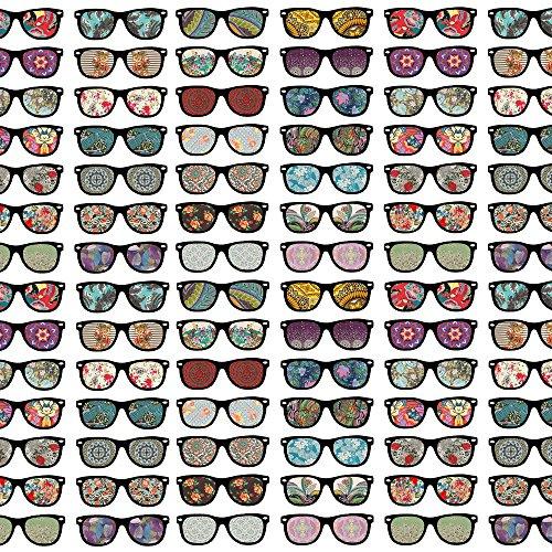 Apple iPhone 5s Case Skin Sticker aus Vinyl-Folie Aufkleber Brille hipster Muster DesignSkins® glänzend