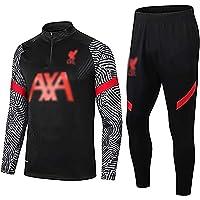 Weqenqing Tuta Sportiva da Uomo, Tuta Sportiva del Liverpool Football Club, Giacca da Allenamento Sportiva Traspirante…