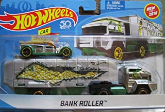 Hot Wheels BankRoller Truck with 1:64 Car