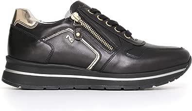 Nero Giardini A719480D Sneakers Donna in Pelle E Tela