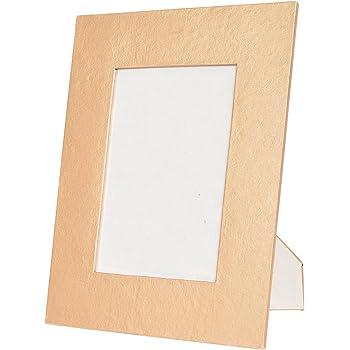 Buy Indesign Cardboard Handmade Paper Photo Frame (Golden) Online at ...