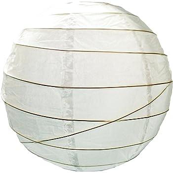 6836 90cm White Paper Lantern Pendant Shade