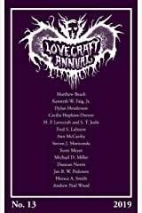 Lovecraft Annual No. 13 (2019) Paperback