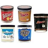 Amerikaans Chocolade Spread/Beleg Pakket - 5 stuks