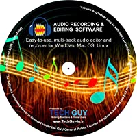 TechGuy4u Audio Recorder and Editor - Your professional sound studio for recording, editing and playing all common audio…