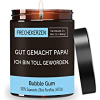 Lustige Duftkerze mit Spruch als Geschenk für Papa | 100% natürlich aus Soja handgemacht, nachhaltig | Geschenkidee…