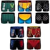 Freegun underwear. - Freegun Men's Cobranding Marvel, Avengers Microfibre Boxer Shorts - Assorted Photo Models - Multicoloure