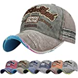Tuopuda Cotton Baseball Cap Snap Back Edge Trucker Motors Racing Motorcycle Biker Hat…