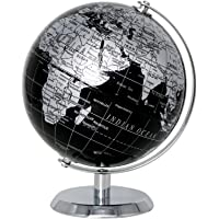 Exerz Metallisch Globus (Durchmesser: 14 cm) - Pädagogisch/Geografisch/Dekoration - Mit einem Metallfuß - in Englischer…